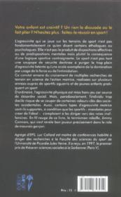 Sport et agressivité - 4ème de couverture - Format classique