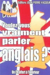 Voulez-vous vraiment parler anglais ? - Intérieur - Format classique