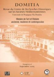Domitia t.6 ; enjeux de confluences mentales en mediterranee occidentale - Couverture - Format classique