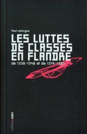 Luttes de classes en flandres - Couverture - Format classique