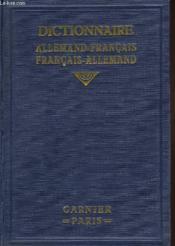 Deutsch-Franzosisches Und Franzosisch-Deutsches Worterbuch - Couverture - Format classique