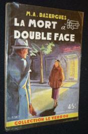 La mort à double face - Couverture - Format classique