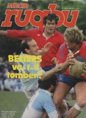 Miroir Du Rugby N°188 - Beziers Va-T-Il Tomber ? - Couverture - Format classique