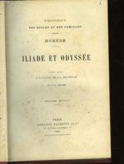 Iliade Et Odyssee - Couverture - Format classique