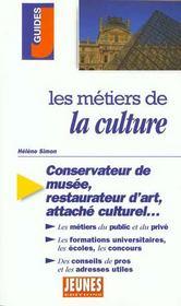Les Metiers T.235 ; Culture - Intérieur - Format classique
