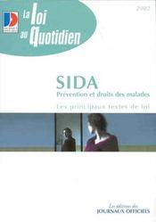 Sida ; Prevention Et Droits Des Malades - Intérieur - Format classique