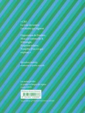 Les mains fertiles ; 50 poètes en langue des signes - 4ème de couverture - Format classique