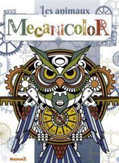 Mecanicolor ; les animaux ; hibou - Couverture - Format classique