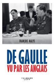 De Gaulle vu par les Anglais - Couverture - Format classique