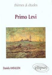 Primo Levi - Intérieur - Format classique