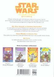 Star Wars - clone wars episodes t.1 ; heavy metal Jedi - 4ème de couverture - Format classique