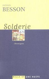 Solderie - Intérieur - Format classique