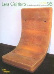 Cahiers Du Musee National D'Art Moderne N 96 - Intérieur - Format classique