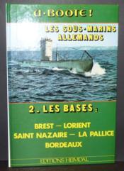 U.boote 2 - les sous marins allemands - Couverture - Format classique