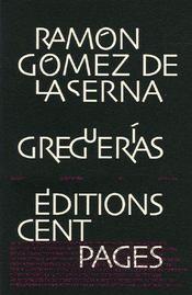 Greguerías - Couverture - Format classique