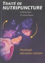 Precis De Physiologie Fonct. Et Nutripuncture - Intérieur - Format classique