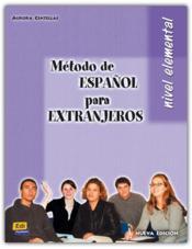 Metodo De Espanol Elemental Alumno - Couverture - Format classique
