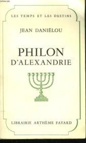 Philon D'Alexandre. - Couverture - Format classique