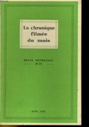 La Chronique Filmee Du Mois N°26 - Couverture - Format classique