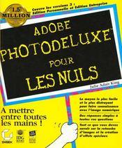 Adobe Photodeluxe Pour Les Nuls - Intérieur - Format classique