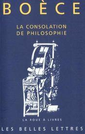 La consolation de philosophie - Intérieur - Format classique