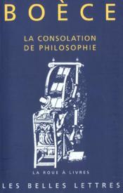 La consolation de philosophie - Couverture - Format classique