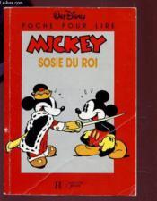 Mickey Sosie Du Roi - Couverture - Format classique