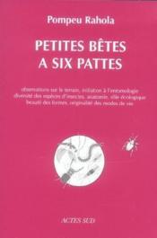 Petites betes a six pattes - Couverture - Format classique