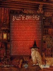 Ballet de sorcières - 4ème de couverture - Format classique