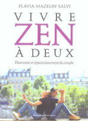 Vivre zen à deux ; harmonie et épanouissement du couple - Intérieur - Format classique