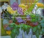 Peintures modernes - des impressionnistes a bonnard - Couverture - Format classique