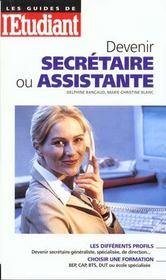 Devenir Secretaire Ou Assistante 1999 - Intérieur - Format classique