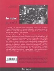 Jim t.5 ; en train ! - 4ème de couverture - Format classique