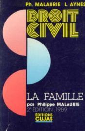 Droit Civil La Famille - Couverture - Format classique