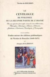 Le Centilogue De Ptolomee - Couverture - Format classique
