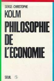 Philosophie De L'Economie - Couverture - Format classique