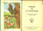 Fables De La Fontaines - Couverture - Format classique