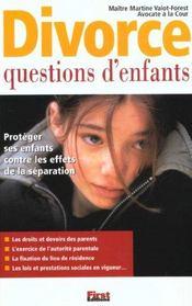 Divorce ; Questions D'Enfants - Intérieur - Format classique