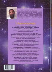 L'Astronomie - 4ème de couverture - Format classique