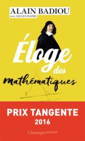 Éloge des mathématiques - Couverture - Format classique
