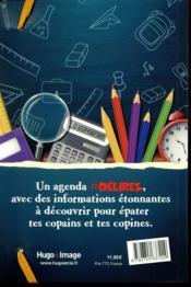 Agenda scolaire ; #délires (édition 2018/2019) - 4ème de couverture - Format classique