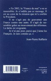 La France de mai ; entretiens avec Eric Mandonnet - 4ème de couverture - Format classique