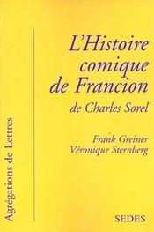 Francion De Charles Sorel - Intérieur - Format classique