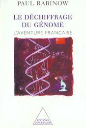 Le dechiffrage du genome - l'aventure francaise - Intérieur - Format classique