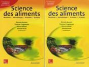 Science des aliments ; biochimie, microbiologie, procédés, produits t.1 et t.2 - Couverture - Format classique