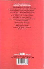 L Homme Sans Accessoires - 4ème de couverture - Format classique