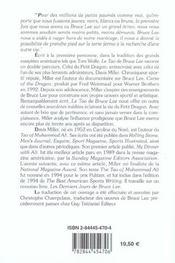 Tao de bruce lee (le) - 4ème de couverture - Format classique