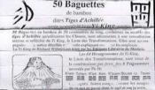 50 baguettes pour tirage du yi king - Couverture - Format classique