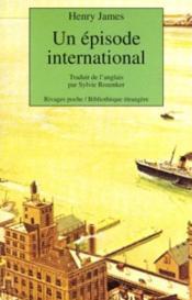 Un épisode international - Couverture - Format classique