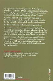 Mourir pour mac do en irak - 4ème de couverture - Format classique